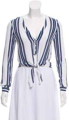 Lovers + Friends Stripe Carmine Blouse