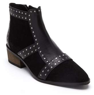 Matisse Sorrento Studded Suede & Leather Bootie