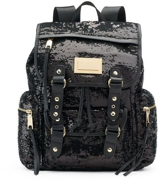 Juicy Couture Sequined Backpack $99 thestylecure.com