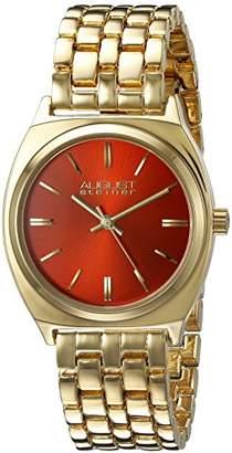 August Steiner Men's AS8186YGRD Analog Display Japanese Quartz Gold Watch