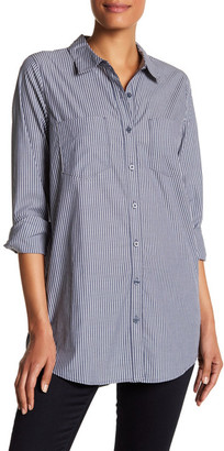 SUSINA Poplin Striped Long Sleeve Shirt $34.97 thestylecure.com