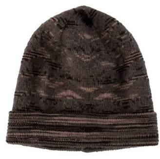 Missoni Kid Mohair Knit Beanie w/ Tags Grey Kid Mohair Knit Beanie w/ Tags