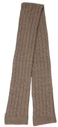 Portolano Cashmere Open Knit Scarf