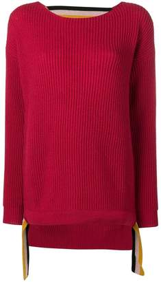 Pinko knitted cut-out sweater