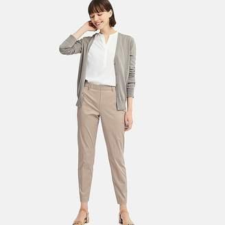 Uniqlo Women's Ezy Satin Ankle-length Pants (check)
