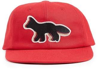 MAISON KITSUNÉ Quadri Fox Baseball Cap