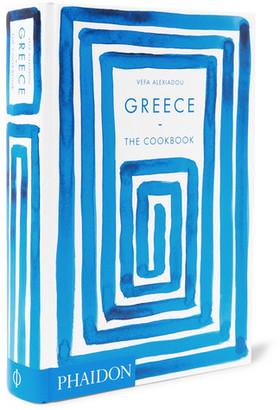 Greece: The Cookbook Hardcover Book