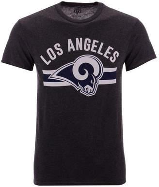 Authentic Nfl Apparel Men Los Angeles Rams Checkdown T-Shirt