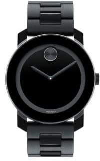 Movado Large Bold Stainless Steel Watch