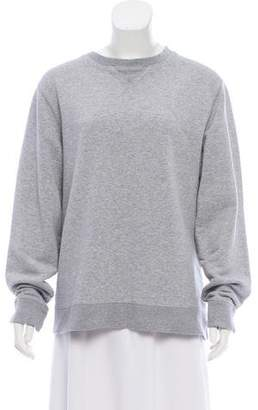 Sunspel Long Sleeve Scoop Neck Sweatshirt