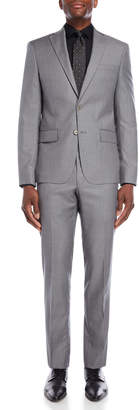 John Varvatos Two-Piece Solid Grey Suit