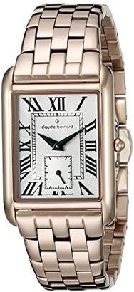Claude Bernard Women's 23097 37RM BR Ladies Fashion Analog Display Swiss Quartz Rose Gold-Tone Watch