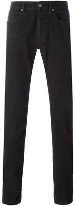 Incotex textured trousers