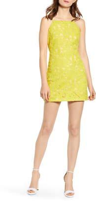 Endless Rose Cutout Back Minidress