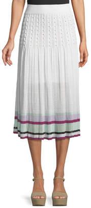 Tabula Rasa Amma Pleated High-Waist Midi Skirt