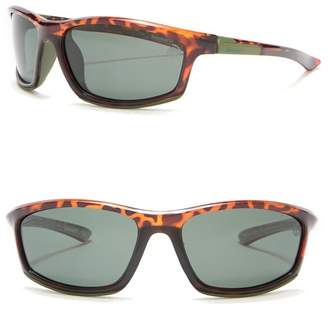 Timberland Injected 62mm Polarized Sunglasses