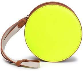 Com Diane Von Furstenberg Color Block Neon Leather Clutch