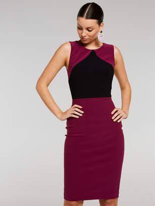 Portmans Australia Megan Triangle Splice City Dress
