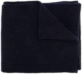 N.Peal chunky ribbed scarf