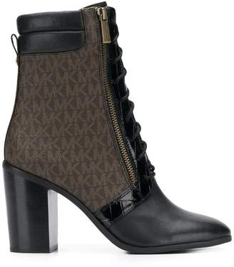 MICHAEL Michael Kors ankle lace-up boots