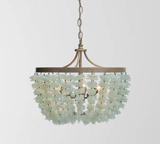 Pottery Barn Enya Seaglass Chandelier