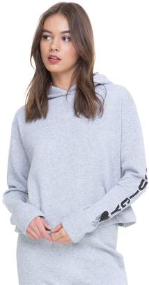 Juicy Couture Fleece Inked Heart Hooded Pullover