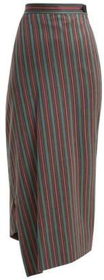 Vivienne Westwood Midi Infinity Asymmetric Midi Skirt - Womens - Multi