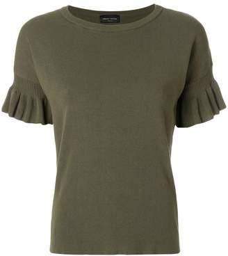 Roberto Collina ruched T-shirt