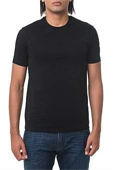 Emporio Armani Logo T-Shirt Black