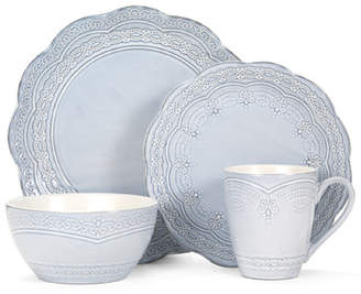 Pfaltzgraff Everyday Serephina 16 Piece Dinnerware Set, Service for 4
