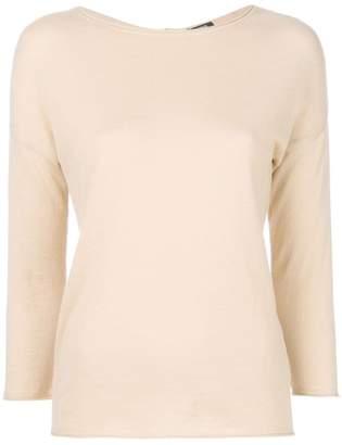 Aspesi round neck cardigan