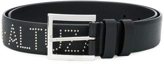 Altuzarra logo studded belt