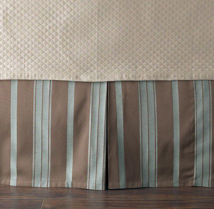 Bedford Jacquard Bed Skirt