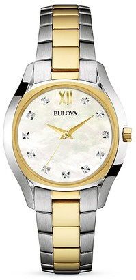 Bulova Diamond Watch, 32mm $350 thestylecure.com