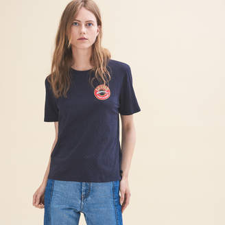 Maje Embroidered T-shirt Tuesday
