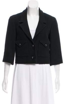 Chanel Cropped Bouclé Jacket
