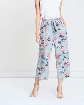 Vero Moda Floral Culotte Trousers