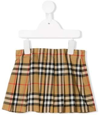 Burberry signature patterned mini skirt