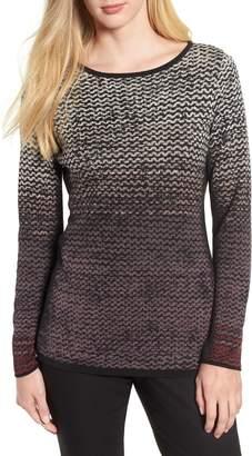Nic+Zoe Pattern Stitch Sweater