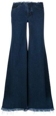 Marques Almeida Marques'almeida fringed flared jeans