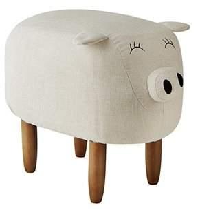 DormCo Suzie - Ivory Big Pig - Seating Stool