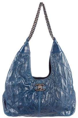 Chanel Paris-Dallas Coco Supple Hobo