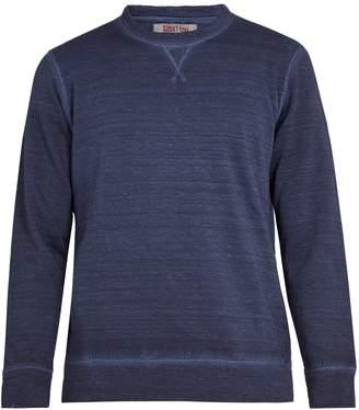 120% Lino 120 LINO Linen and cotton-blend sweatshirt