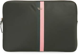 Kate Spade varsity stripe universal laptop sleeve