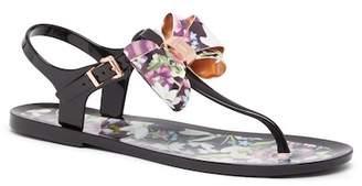 Ted Baker Effiey Floral Bow Sandal