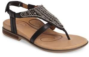 Aetrex Sheila Embellished Sandal