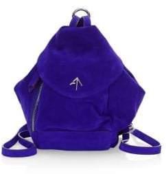 Atelier Manu Mini Fernweh Suede Backpack