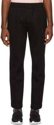 Alexander McQueen Black Neoprene Lounge Pants