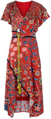 Peter Pilotto Floral Asymmetric Dress