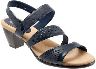 Trotters Marvie Perforated Strappy Sandal